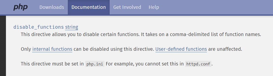 disable_functions
